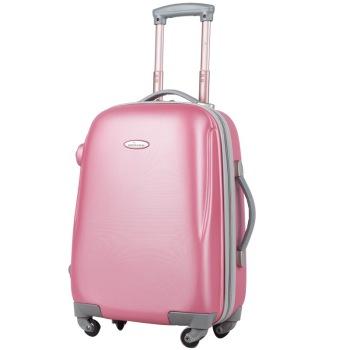 泊客行者blomberg糖果色拉桿箱24寸ABS材質6454銀粉紅