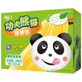 愛珍(Ourjoy)功夫熊貓營養動能面豬肝菠菜味200g
