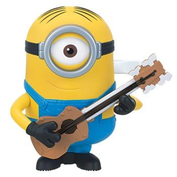 小黄人3《小黄人 大眼萌》卑鄙的我 益智玩具 吉他公仔电影周边正品