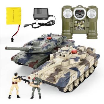 4g 超大遥控车充电动漂移遥控汽车儿童玩具车 男孩赛车模 德国豹2