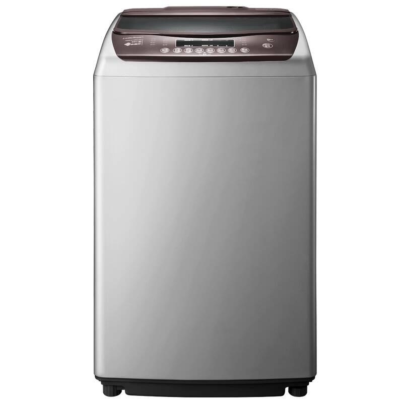 5公斤全自动波轮洗衣机 高端水魔方(灰色)