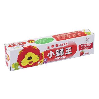 【京东超市】狮王(lion)小狮王木糖醇儿童牙膏40g(草莓)(新老包装随机