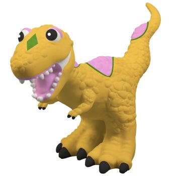 涂色恐龙动物塑胶模型 创意儿童玩具动物王国 10寸涂色卡通霸王龙图片