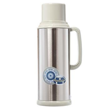 gint 嘉特 保温瓶热水瓶 玻璃内胆2l gt-3012-200y 不锈钢本色图片