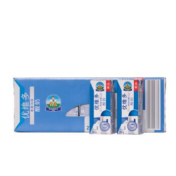 波兰 进口酸奶 优维多(YOVITOS) 常温酸奶 250g*27 整箱装