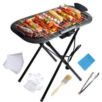 TaTanice SS-04 电烤+碳烤两用烧烤炉户外烧烤架