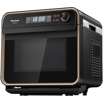 松下Panasonic家用蒸烤箱NU-JD100B15L电烤箱电蒸箱空气炸烘焙发酵餐具消毒电烤箱