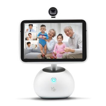 小鱼在家 智能家庭助手Lite版 高清视频360度无线wifi网络摄像机 高科技儿童早教语音陪伴机器人